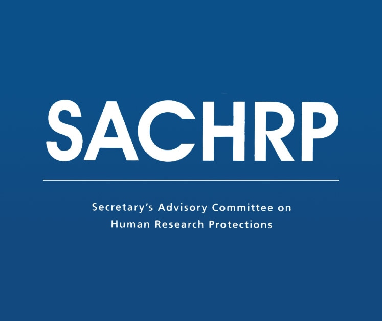 Secretary's Advisory Committee on Human Research Protections (SACHRP) Logo