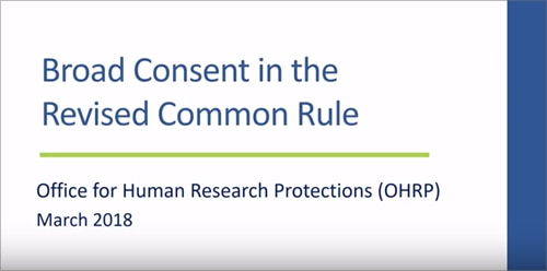 revised common rule video 5