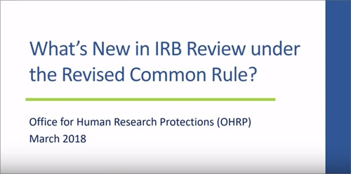 revised common rule video 6