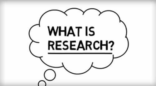 Watch: Participating in Research (Part 1 of 3): What is Research?
