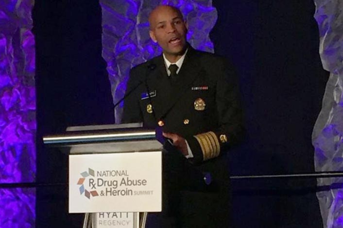Surgeon General Announces Advisory on Naloxone and Opioid Overdose at 2018 Rx Summit