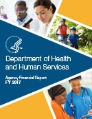 Cover page for Department of Health and Human Service Agency Financial Report for Fiscal Year 2017.