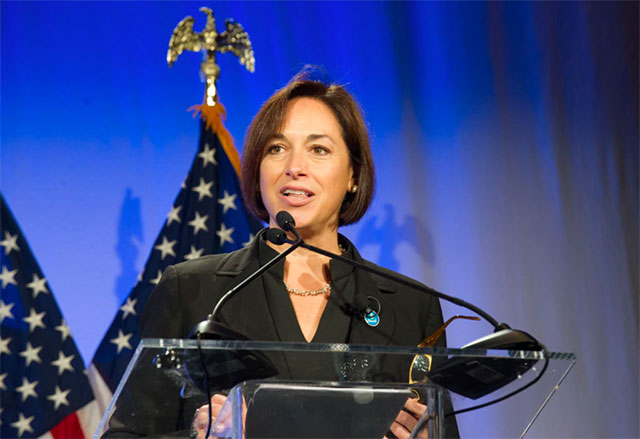 Dr. Karen DeSalvo, Acting Assistant Secretary for Health and the National Coordinator for Health Information Technology, delivers keynote speech at the 2016 Health Datapalooza.
