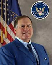 Official headshot of PCSFN Council member Bill Belichick.