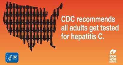 CDC recommends all adults to get tested for hepatitis c