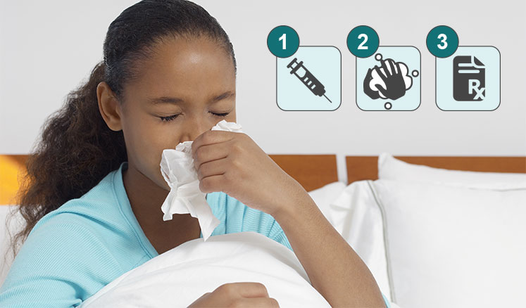 3 steps to fight the flu