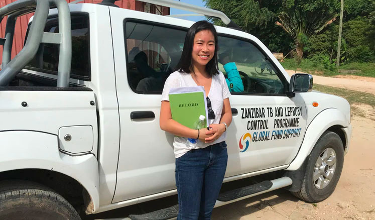 Alice Wang is an epidemiologist with CDC's Center of Global Health