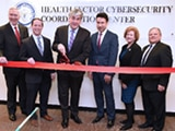 Deputy Secretary Eric Hargan and HHS leaders at the opening of the Health Sector Cybersecurity Coordination Center.