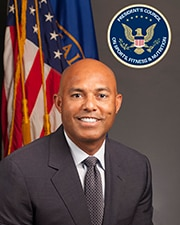 Official headshot of PCSFN Co-Chair Mariano Rivera