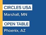 Circles USA and Open Table