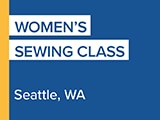 Women's Sewing Class, Seattle, WA