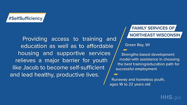 The Family Services of Northeast Wisconsin provides strengths-based development model with assistance in choosing the best training/education path for successful employment