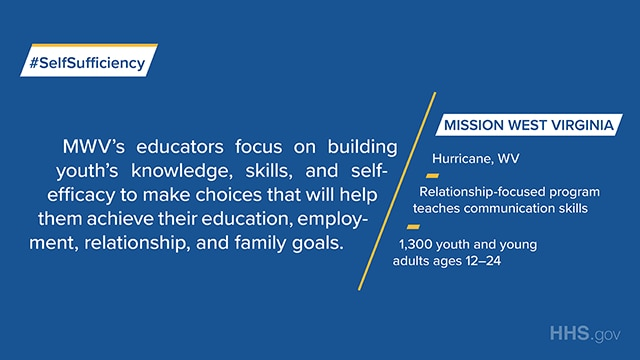 Mission West Virginia is a relationship-focused program that teaches communication skills