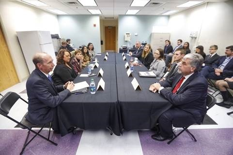 Acting HHS Secretary Hargan participates in an Opioids Listening Session in  Lexington, Kentucky