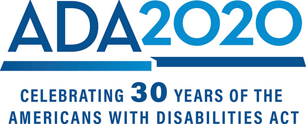 ADA2020 Celebrating 30 years of the Americans with Disabilities Act
