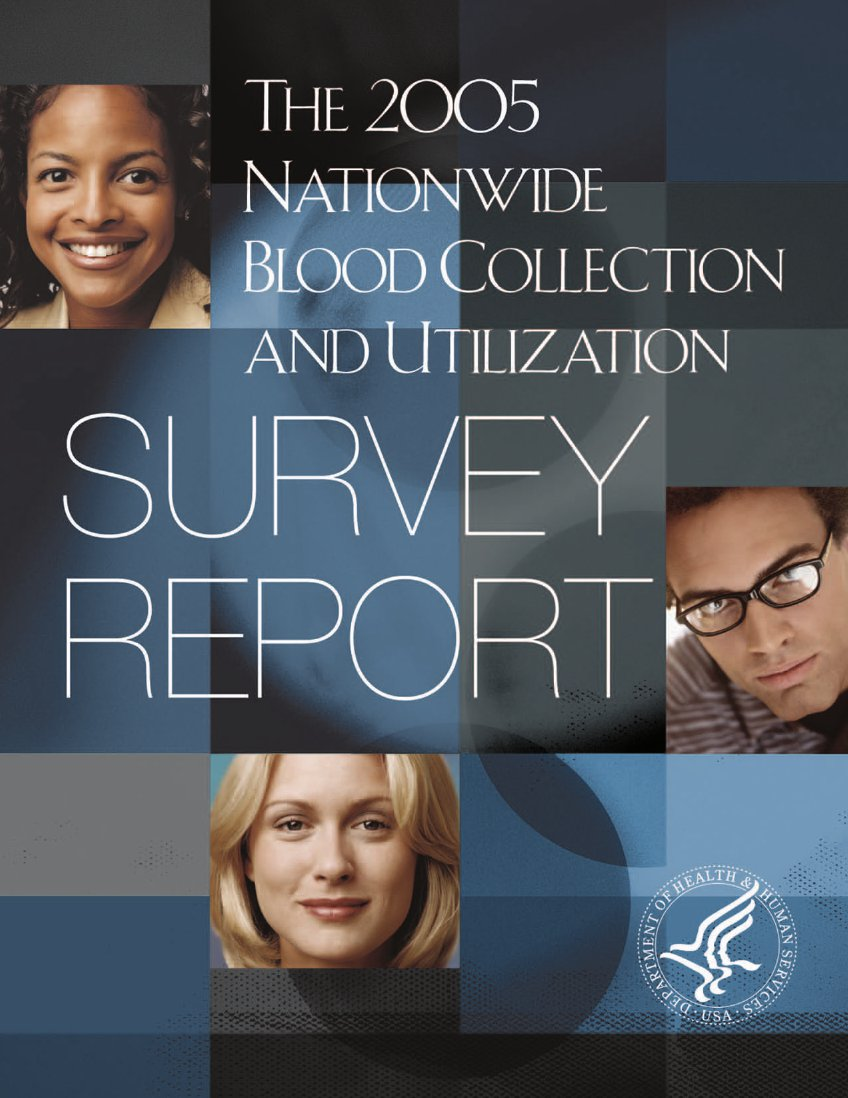 2005 NBCUS Report cover.