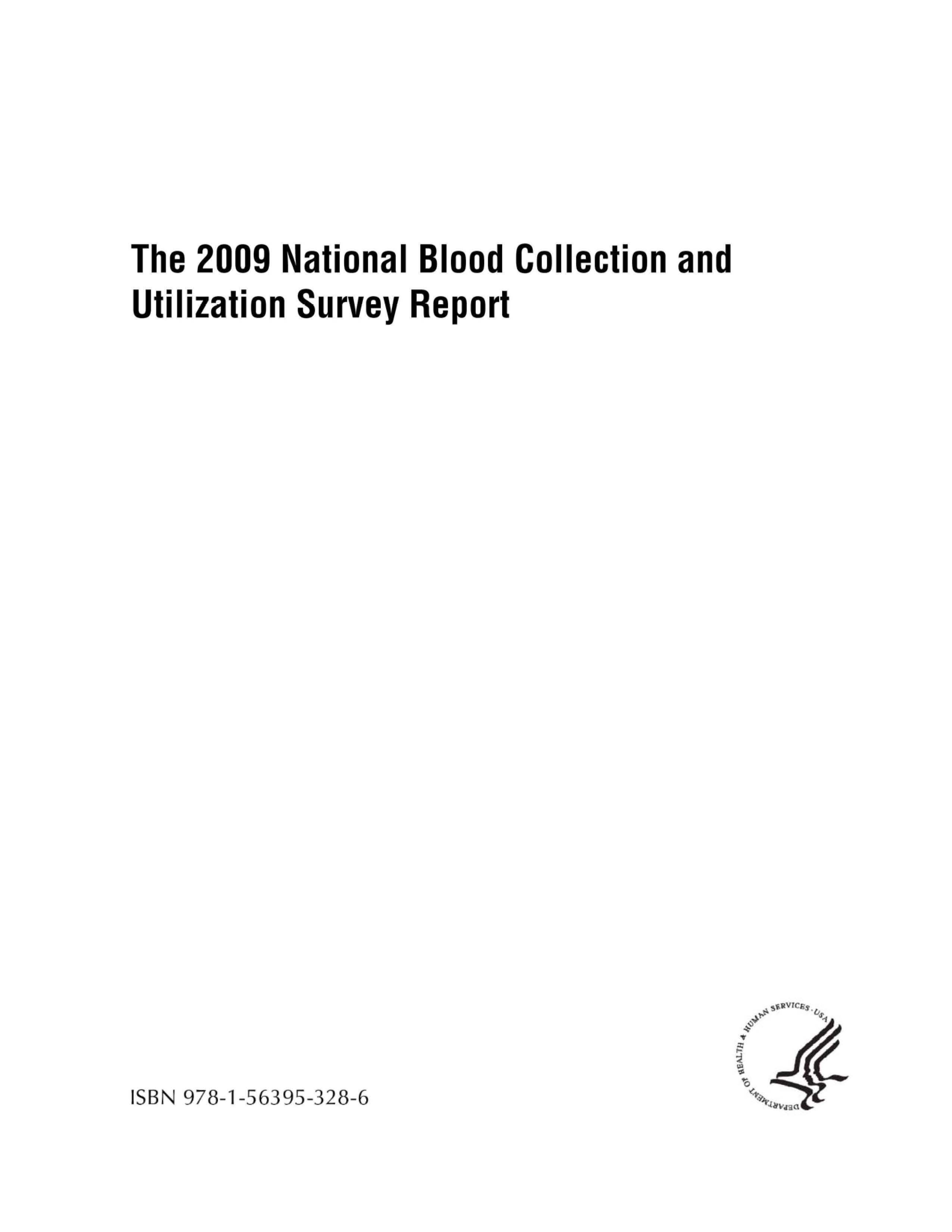 national blood collection utilization survey gov 2009 nbcus report cover