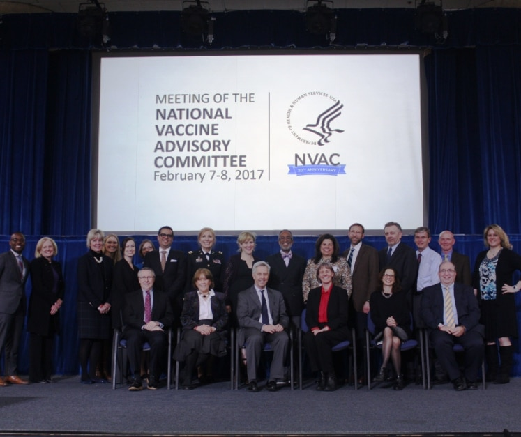 NVAC members at a meeting