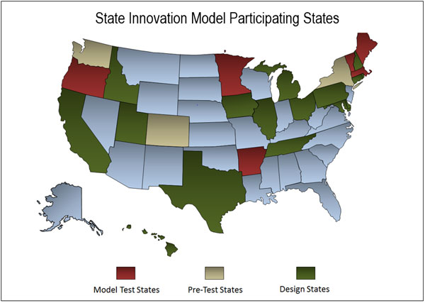State Innovation Model Participating States