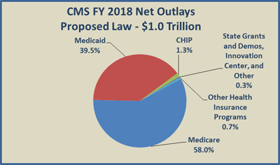 CMS FY 2018 Net Outlays