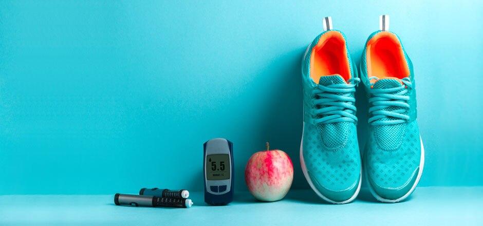 Sneaker, apple, phone