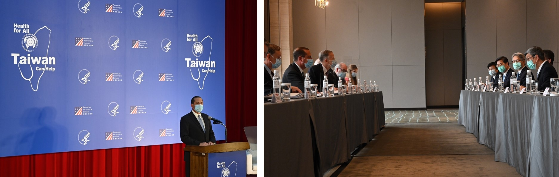 HHS Secretary Azar delivered remarks at National Taiwan University and met with COVID-19 experts in Taipei, Taiwan on August 11, 2020.
