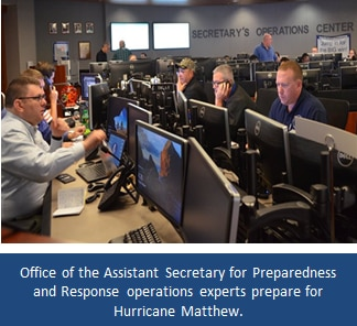 Secretary's operation center.