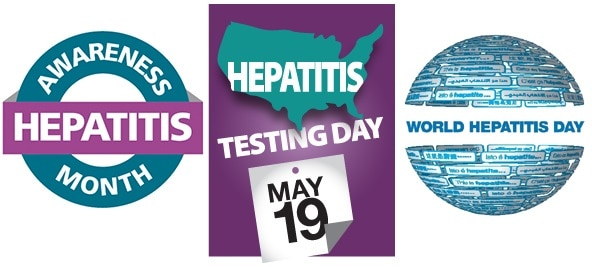 Hepatitis Awareness Month and Days Banner