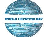 World Hepatitis Day logo.