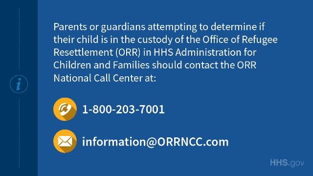 Unaccompanied Alien Children Information | HHS gov