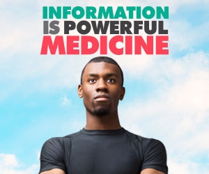 Information is Powerful Medicine web banner.