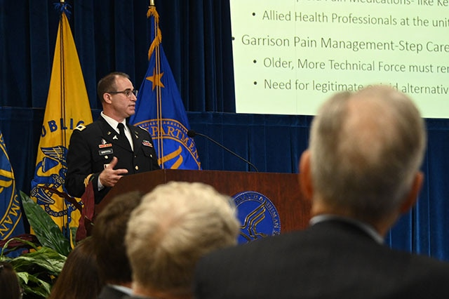 Chief Medical Officer, HHS Office of the Assistant Secretary of Health, and Chairperson, Pain Management Inter-agency Task Force