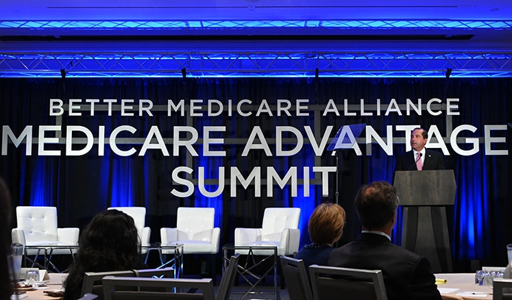 Secretary Azar speaks to the Better Medicare Alliance about the Trump Administration's vision for healthcare.