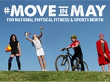Read a blog post about how you can get active during National Physical Fitness and Sports Month.