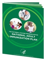 National Adult Immunization Plan Report cover.
