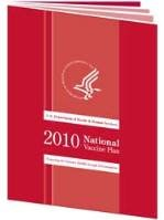National Vaccine Plan Report cover.
