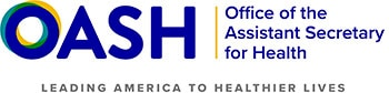 Office of the Assistant Secretary for Health - Leading America to healthier lives logo