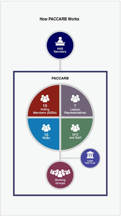 PACCARB organizational chart