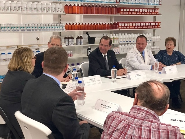 Secretary Azar's Community Pharmacy and Patient Roundtable