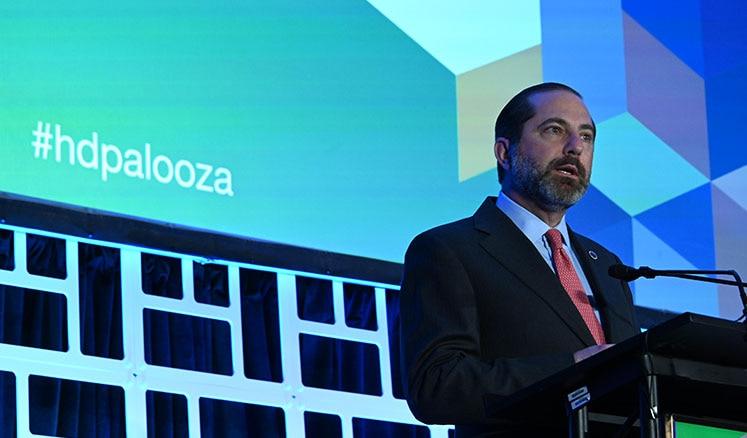 Secretary Azar Speaks at Health Datapalooza
