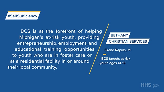 Bethany Christian Services in Grand Rapid, MI is at the forefront of helping at-risk youth with educational and employment opportunities.