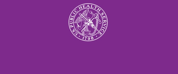 U.S. Public Health Service 1798 logo on a purple background