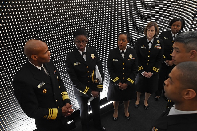 The Surgeon General urged his officers to get even more involved in the fight against over-prescribing and misuse of opioid pain medications.