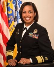 Rear Admiral (RADM) Sylvia Trent-Adams, Ph.D., R.N., F.A.A.N.