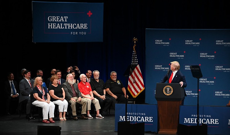 President Trump signs Executive Order to improve Medicare