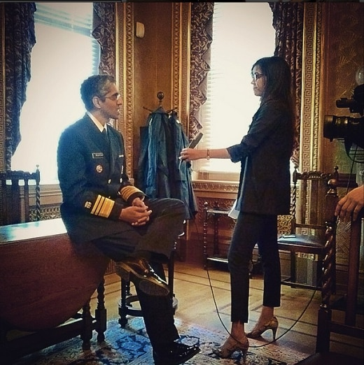 U.S. Surgeon General, Surgeon General, Vice Admiral (VADM) Vivek H. Murthy, M.D., M.B.A, is interviewed at the White House.