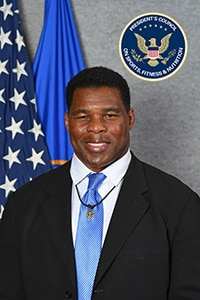 Herschel Walker, PCSFN Co-Chair