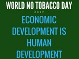Read a blog post about World No Tobacco Day and the effects that tobacco use have on economic and human development.